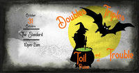 AÉCLSS HALLOWEEN: Doubles, Triples, Toil and Trouble
