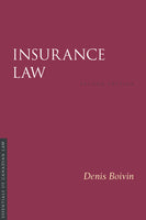 Insurance Law, 2nd ed