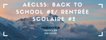 Aeclss: back to school/rentrée scolaire (without drink)