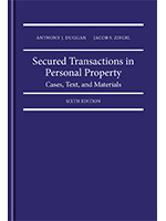 Secured Transactions in Personal Property: Cases, text and materials