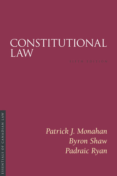 Constitutional Law, 5th ed