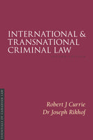 International and Transnational Criminal Law