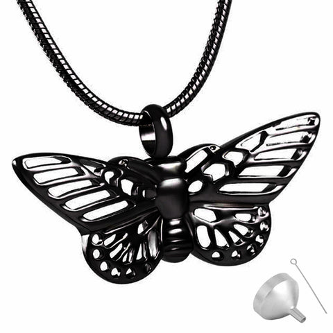 Stainless Steel Cremation Jewelry Pet Urn Pendant Necklace