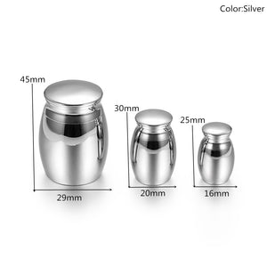 Stainless Steel Keepsake Mini Cremation Urns