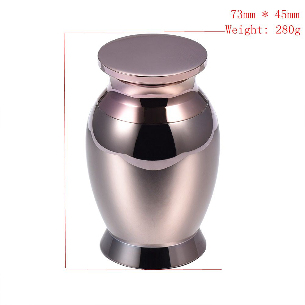 Mini Jar Stainless Steel Cremation Urn Keepsake Cremation Urns