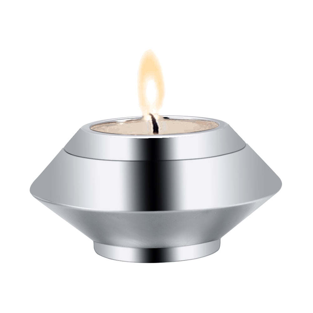 Stainless Steel Votive Candle Holder Ashes Mini Urns Candlestick Keepsake