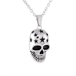 Skeleton Keepsake Cremation Pendant Necklace Jewelry