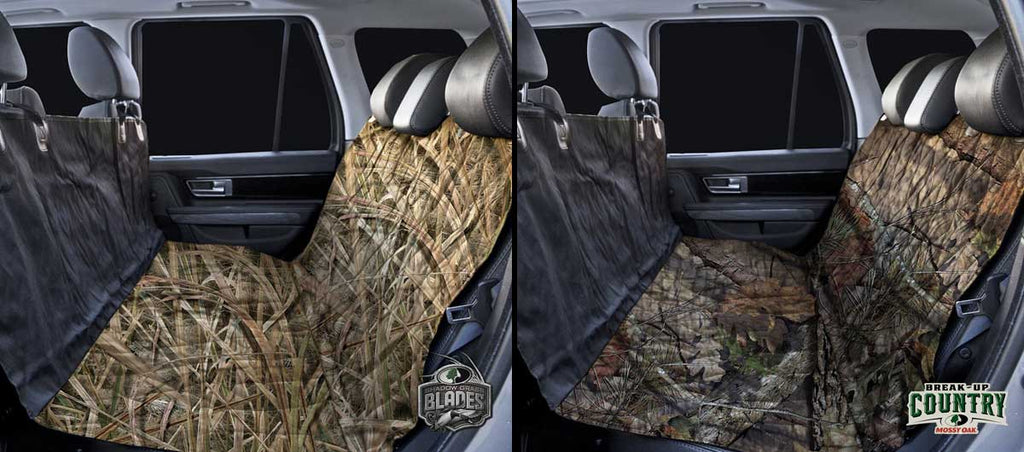 Mossy Oak Camo Rear Seat Protection Available Now!