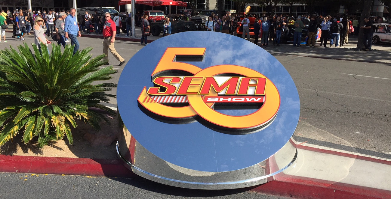 2016 was the 50th Anniversary of The SEMA Show in Las Vegas, NV
