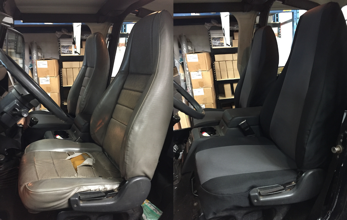 Custom-fit Seat Covers for safety & protection