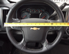 steering wheel cover size Large