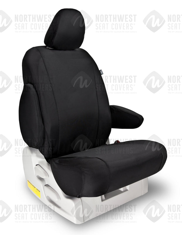 Black Ballistic Seat Covers | Durable Custom Seat Protection - Pacific Restyling