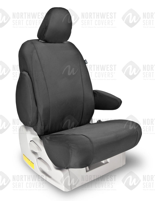 Grey Ballistic Seat Covers | Durable Custom Seat Protection - Pacific Restyling