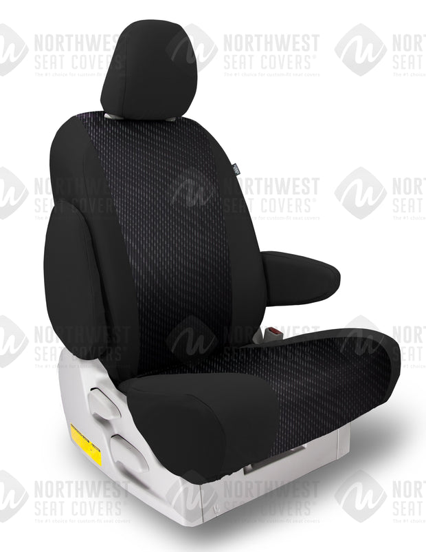 Black Cool Sport Seat Covers | Durable Custom Seat Protection - Pacific Restyling
