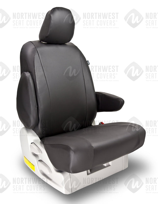 Black Vinyl Seat Covers - Pacific Restyling