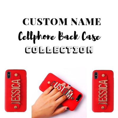Custom Name Phone Back Case Collection