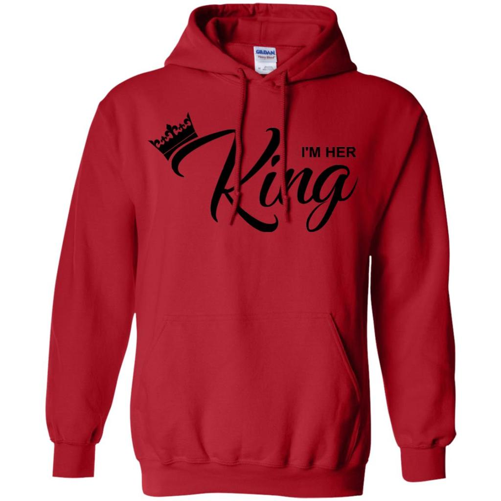 d0f626c946a King Queen Couple Hoodie 8 oz