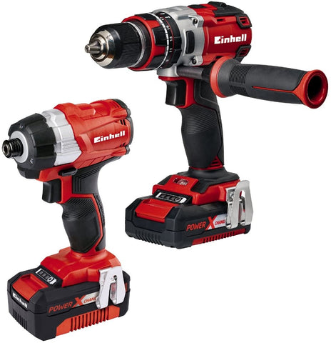 Einhell drill and compact driver set
