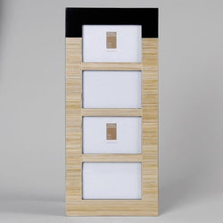 Bamboo x 4  Photo Frame