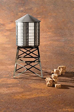 Alessi Water Tower Kitchen Container in Stainless Steel