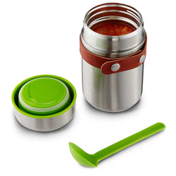 Black & Blum Steel Lime Bam Food Flask