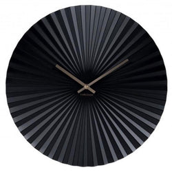 Karlsson Sensu Black Wall Clock