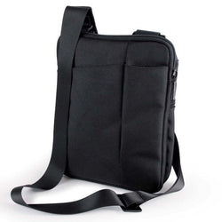 Lexon Evo Black iPad Bag with Shoulder Strap