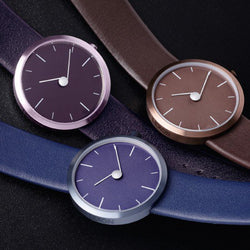 Purple Lexon Tao Minimal Design Watch
