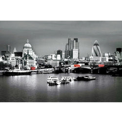 London City View Photo Print