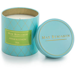 Max Benjamin Assam & Lemon Tea Scented Candle in Tin