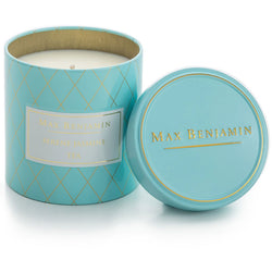 Max Benjamin Serene Jasmine Tea Scented Candle in Tin