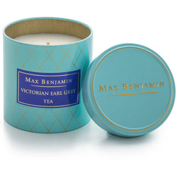 Max Benjamin Victorian Earl Grey Tea Scented Candle in Tin