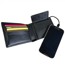 Mighty Power Wallet with Phone Charger