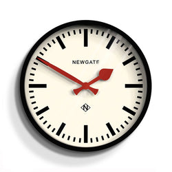 Newgate Luggage Painted Black Wall Clock