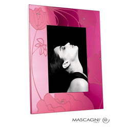 Pink Flowers Photo Frame