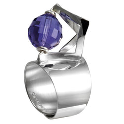 Ostrowski Space Small Purple Ring