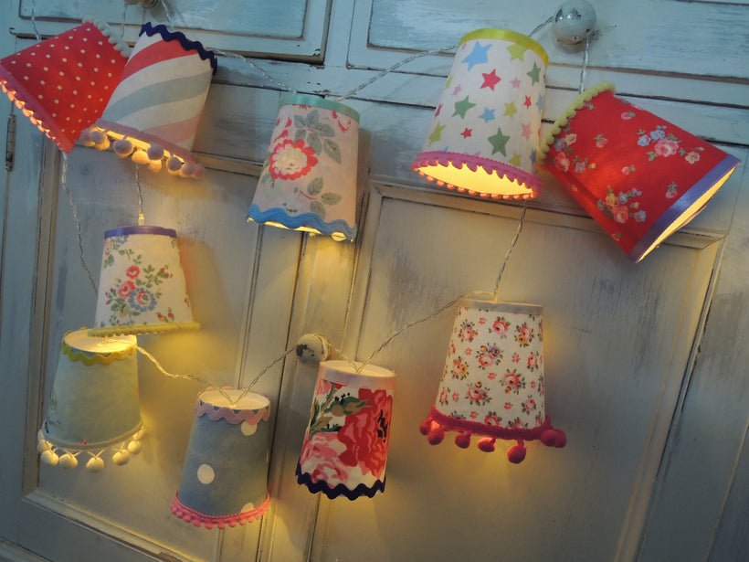 Handmade Fairy Light String Lanterns
