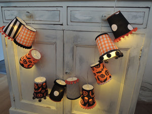 New! Handmade Halloween Fairy Light Lanterns