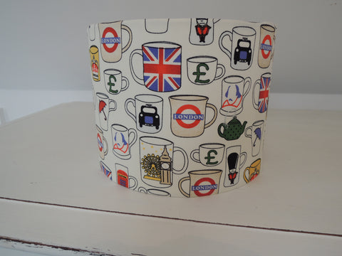 New! Handmade British Tea Cup Lampshade
