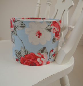 New! Handmade Lampshade in beautiful Cath Kidston New Rose Bloom