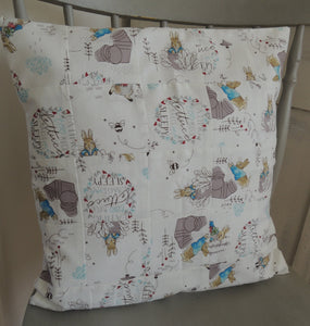 Limited Edition Beatrix Potter Cushion Cover