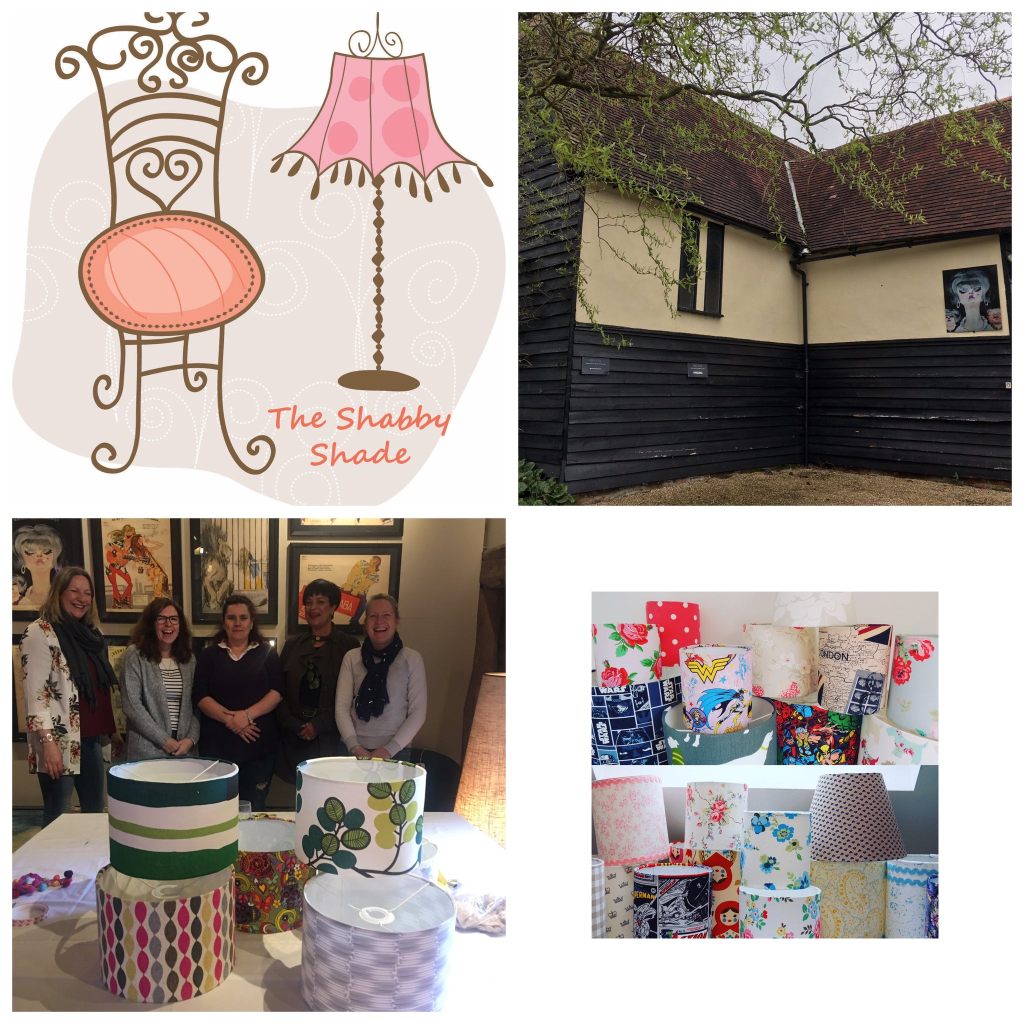 Make a Handmade Drum Lampshade Class