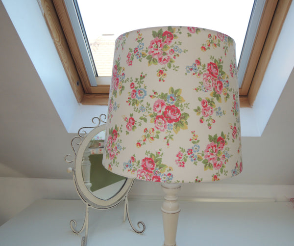 Custom Made Tapered Drum Lampshade