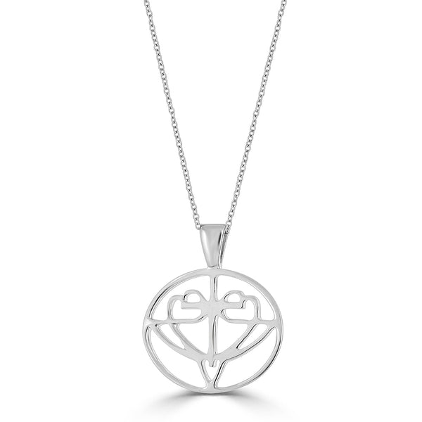 Round HopeStrong® Pendant