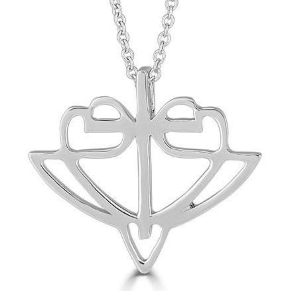 Classic Sterling Silver HopeStrong® Pendant