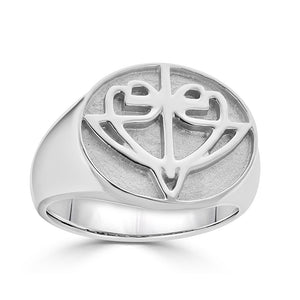 Open image in slideshow, Oval HopeStrong® Signet Ring