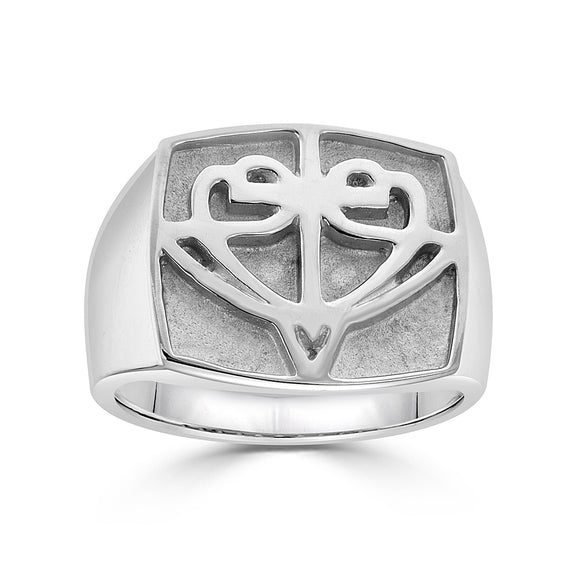 Square HopeStrong® Signet Ring
