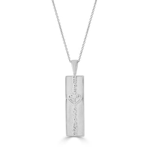 Open image in slideshow, Reversible Vertical Bar HopeStrong® Pendant