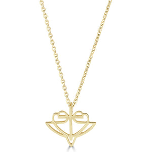 Open image in slideshow, Classic Yellow Gold HopeStrong® Pendant - 14KT