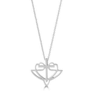 Open image in slideshow, Classic White Gold HopeStrong® Pendant - 14KT